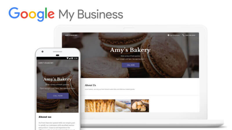 free google my business website builders for local business inforiants